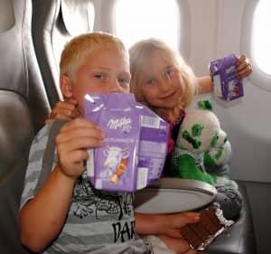 Erik and Katia flying to Munich